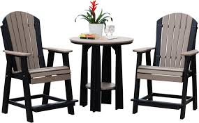 picture of luxcraft poly balcony table set