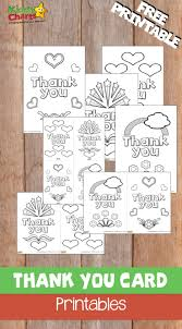 Choose from holiday cards, birthday cards, printable thank you cards to color, hundreds of coloring pages, and more! Thank You Cards Free Printable 52kindweeks Kiddycharts