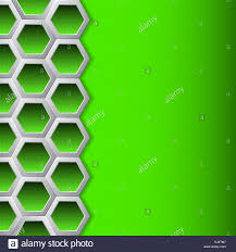 Brochure Background Design Abstract Brochure Background Design With Green Hexagons Stock Photo