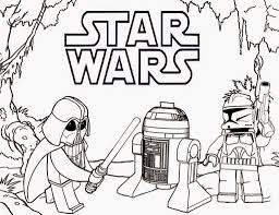 Coloring Pages Lego Star Wars Coloring Pages Darth Vader And R2