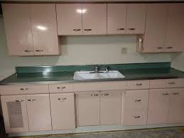 inspiring vintage metal kitchen cabinets with vintage metal kitchen cabinets full set