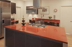 morrocan red recycled glass countertops san jose