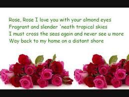 rose rose i love you flower of ma