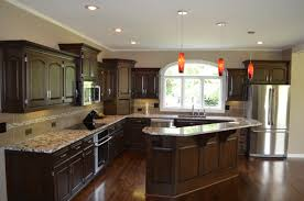 Painted Knotty Pine Kitchen Galley Kitchen Makeovers Painting Knotty Pine Cabinets