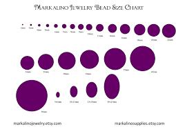10mm Size Chart Bead Size Chart Swanheart Jewelry