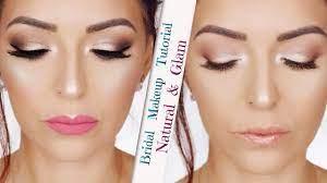 bridal makeup tutorial natural glam