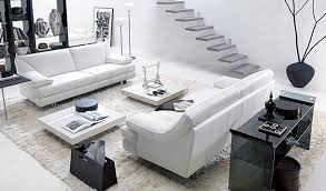 White Living Room Design 17 Inspiring Wonderful Black And White Contemporary Interior