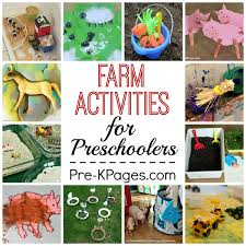 preschool farm theme activities
