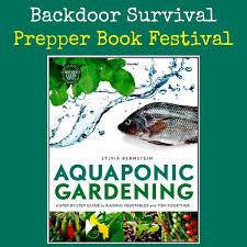 aquaponic gardening. prepper book festival aquaponic gardening | backdoor survival