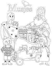Sinterklaas Kleuren Musjes Kinderwinkel Blog