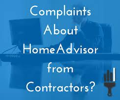 homeadvisor pro reviews and complaints
