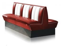 bel air diner booth hw 150db ruby