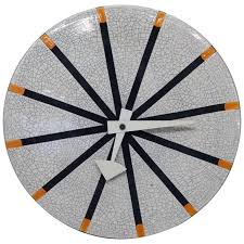 italian ceramic wall clock nelson miller meridian pottery wall clock for italian ceramic wall clocks