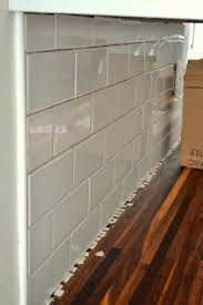 gap between backsplash and countertop amazing how to add a tile in the kitchen ugly duckling