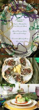 Greek Table Setting Decorations Mardi Gras Inspired Dinner Party Menu Recipe Girl
