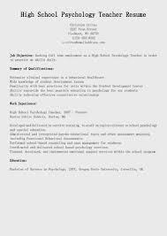 School Psychologist Resume Sample 64 Images Sample Resume For