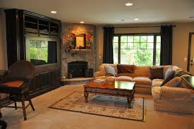 corner stone fireplace family room traditional with custom build mn st