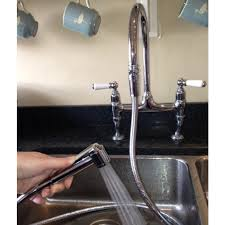 now you can use your shower head and shower hose in the kitchen sink by