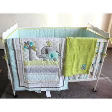 elephant nursery bedding new 7 baby bedding set baby crib bedding sets elephant cartoon baby nursery elephant nursery bedding
