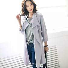 summer style 2016 fashion trench coat for women trench coat for women belt thin cardigan long trench coat fg1510 coat stand coat soccer coat trench coat