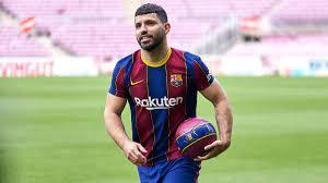 FC Barcelona: Sergio Agüero lehnte nach Lionel Messis Abgang dessen  Trikotnummer 10 ab - Eurosport