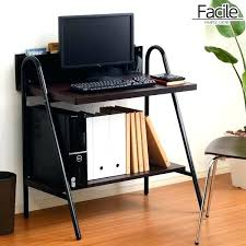 glass computer desk with storage contemporary best lovely home design