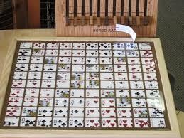 Wooden Sequence Board Game Homemade Sequence Board Amelia Pinterest Crafty and Craft 12