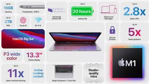 M1-powered Apple MacBook Pro 13 has the longest battery life of any MacBook  ever - GSMArena.com news
