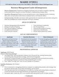 Resume For Owner Of Small Business Gallery Of Small Business Owner Resume Sample Resume Business 16