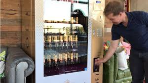 Champagne Vending Machine Beauteous Paramour Bar Claims Firstinthestate Champagne Vending Machine