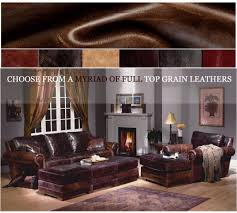 Living Room Furniture Made In The Usa American Heritage Leather Furniture Made In Usa Leathershoppescom