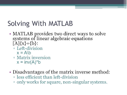 18 solving with matlab