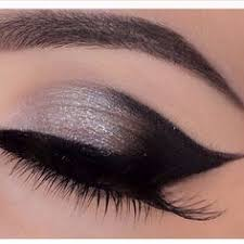 silver black eyes makeup hair beauty beauty makeup makeup style beauty art