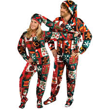 plus size footed pajamas footed pajamas pajama city