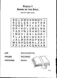 Small Picture Books of the Bible Word Search Bible Coloring Pages Childrens