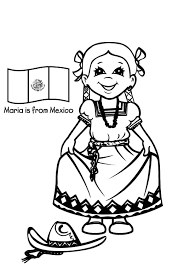 Small Picture Mexican Fiesta Coloring Pages AZ Coloring Pages Mexican Dancers
