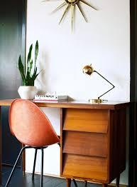 mid century modern office desk. classic mid century modern office desk