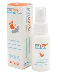 """Dry Dry <b>дезодорант для тела</b> """"Deo Body Spray"""", 50 мл"""