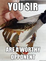 Optimistic Crab memes | quickmeme via Relatably.com