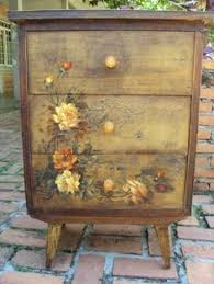 diy decoupage furniture. apw this is a seriously beautiful piece of furniture artwork although iu0027d change the legs diy decoupage