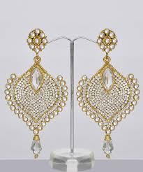 bridal chandelier earrings india