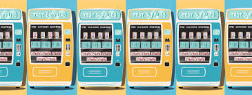 Scantron Vending Machine Enchanting Sandra Wenceslao Testmaterial Vending Machines Would Ease Student