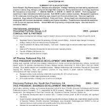 Summary For Resume Example Impressivemary Resume Template Executive Example Examples Personal 86