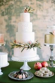 Creative Wedding Cakes With Greenery Decorations 2391365 Weddbook
