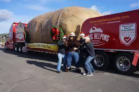 What Is Idaho Known For The Xmas Heard Around The Um Idaho Big Idaho Potato