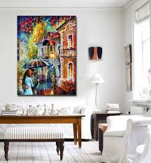 Painting For A Living Room Aliexpresscom Buy Rainy Kiss Modern Living Room Wall Painting
