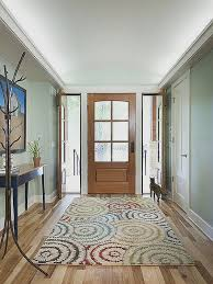 wool rug pad for home decorating ideas new 5 things to keep in mind when choosing an entryway rug