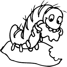 Small Picture Caterpillar coloring pages eating leaves ColoringStar