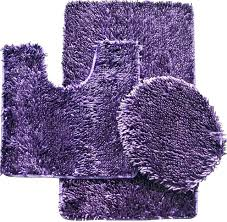 purple bathroom rugs dark rug sets mat bath and gray purp