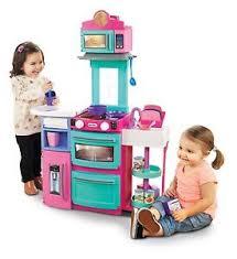 Image is loading Kitchen-Playsets-For-Girls-Toys-Age-5-Young- Kitchen Playsets For Girls Toys Age 5 Young Kids Children Toddler